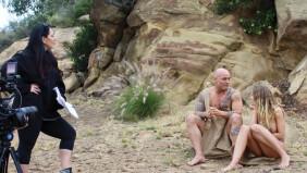 On the Set: Kay Brandt Blazes Trails in 'Naked'