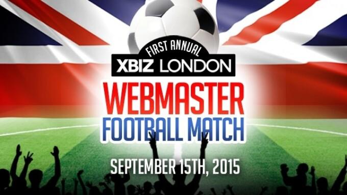 1st Annual Webmaster Football Match Set for XBIZ London