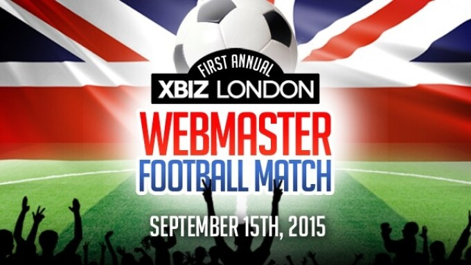 1st Annual Webmaster Football Match Set for XBIZ London