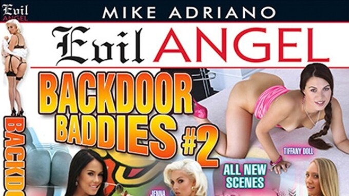 Evil Angel Set to Release 3 New Mike Adriano Films