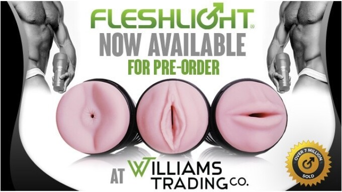 Williams Trading Now Accepting Fleshlight Pre-Orders
