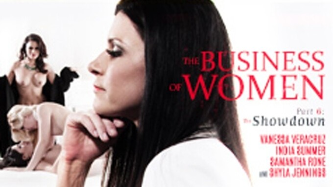 Girlsway Premieres 'The Business of Women Part Six: The Showdown'