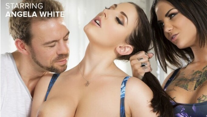 Angela White Rolls Out New 'Threesomes' Movie