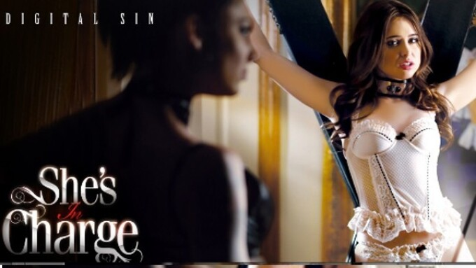 Digital Sin Releases 'She's in Charge'