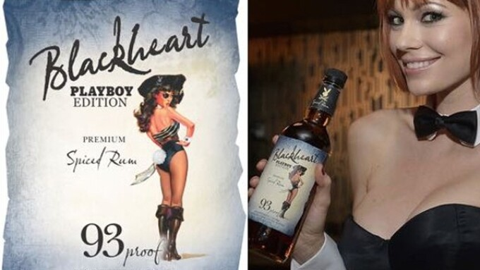 Playboy, Blackheart Rum Ink Licensing Deal