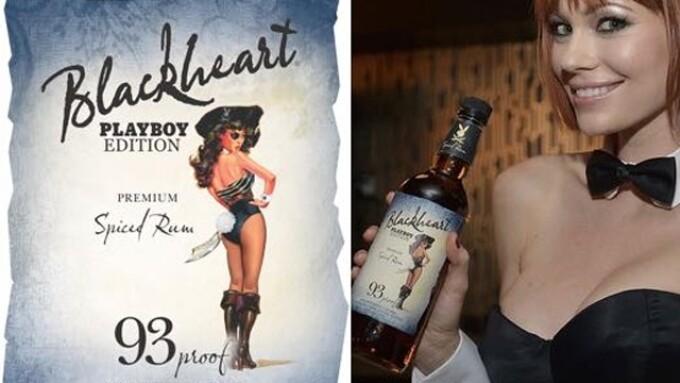 Playboy, Blackheart Rum Ink Licensing Deal