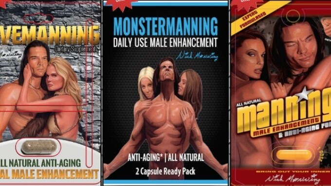 Nick Manning Launches Line of Male-Enhancement Supplements