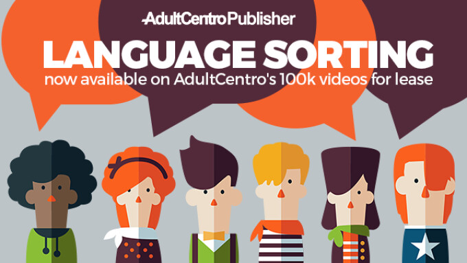 AdultCentro Publisher Announces Language Sorting