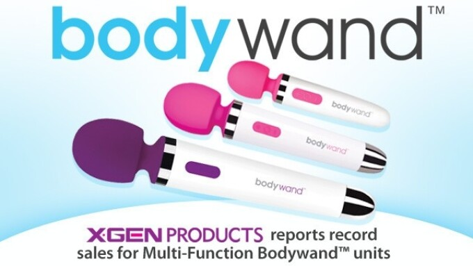 XGen Reports Strong Sales for Bodywand Massagers