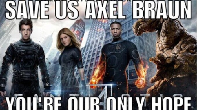 Comic Book Fans Call on Axel Braun for 'Fantastic Four'
