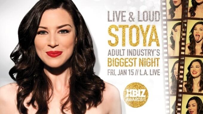 Stoya Named Host of 2016 XBIZ Awards