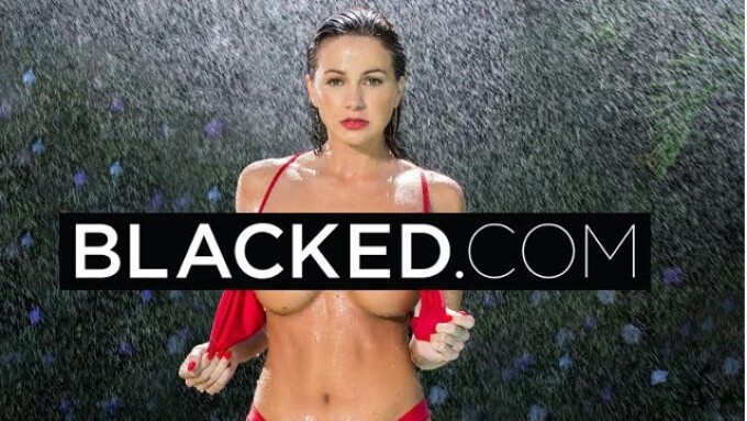 Abigail Mac Performs First Interracial Scene for Blacked