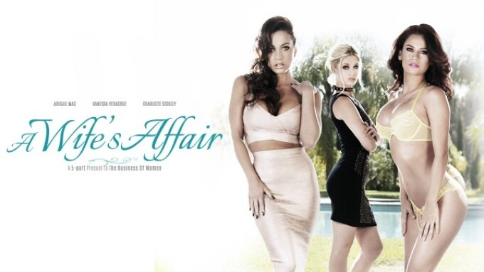 Girlsway.com Releases 'A Wife's Affair' Series Online