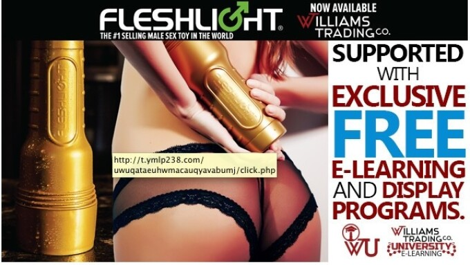 Williams Trading Now Shipping Fleshlight