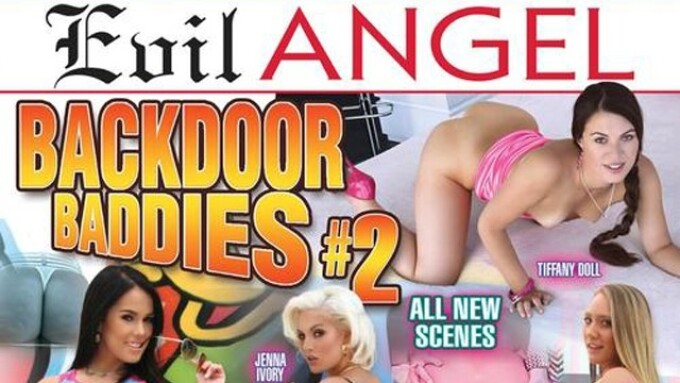 Jenna Ivory Stars in Evil Angel's 'Backdoor Baddies 2'