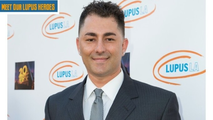 Dennis D. Honored by Lupus LA