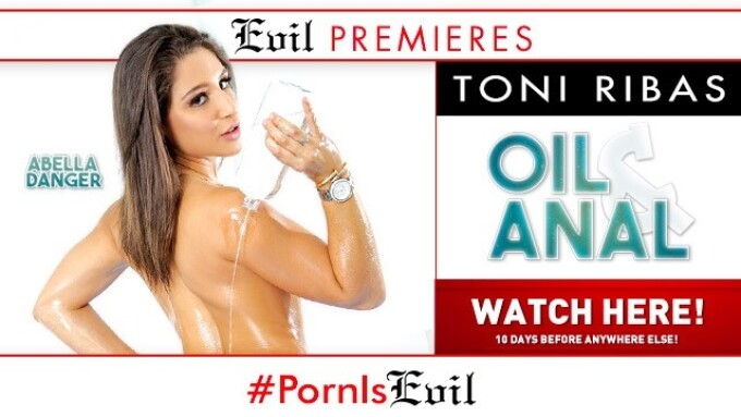 'Oil and Anal' Premieres on EvilAngel.com