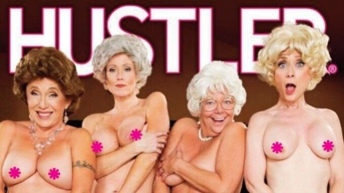 Hustler's 'This Ain't the Golden Girls XXX' Debuts Next Week