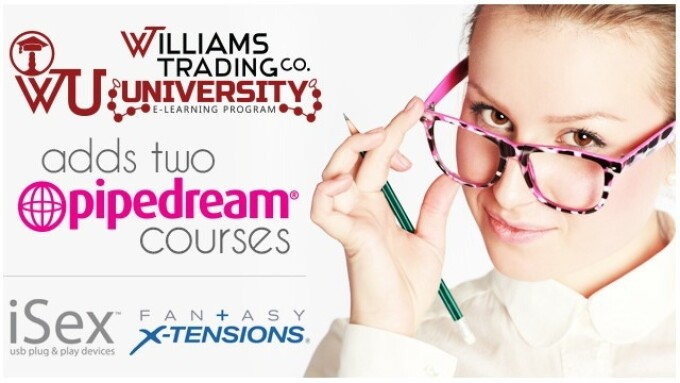 Williams Trading University Adds 2 Pipedream Courses