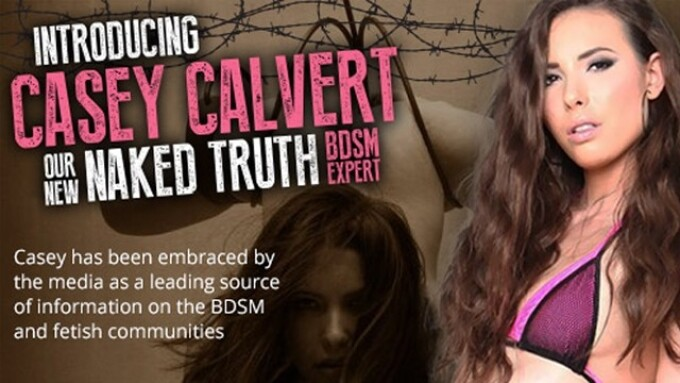 GameLink Taps Casey Calvert as BDSM, Fetish Expert