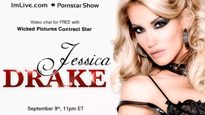 Jessica Drake to Appear on IMLive.com Today to Benefit AIDS Walk