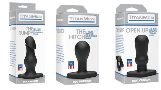 Doc Johnson Debuts 3 New TitanMen Plugs