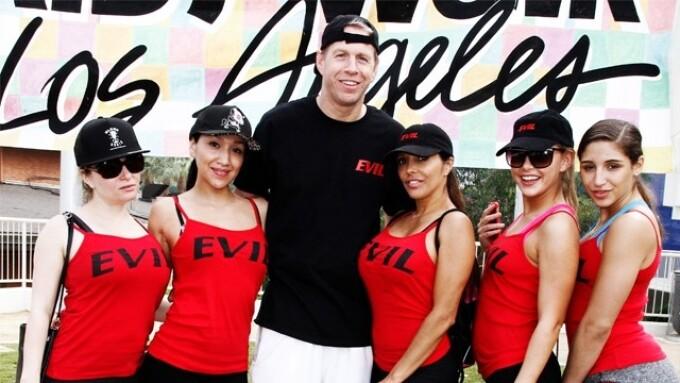 Evil Angel Raising Funds, Awareness for AIDS Walk L.A.