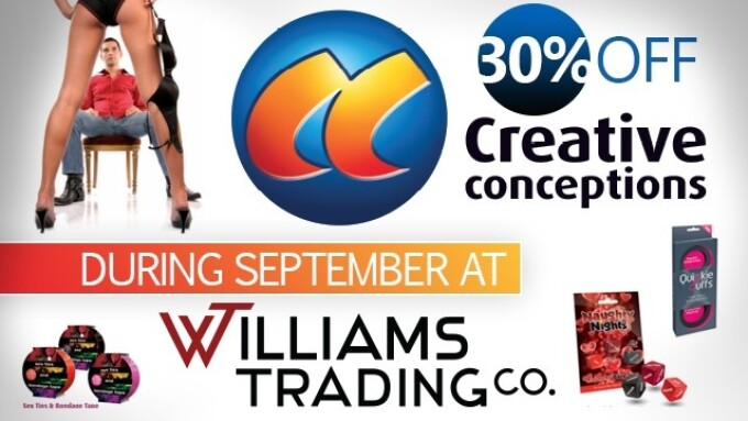 Williams Trading Offering Creative Conceptions Ltd. Discount