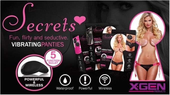 Xgen Products Revamps Secrets Vibrating Panties