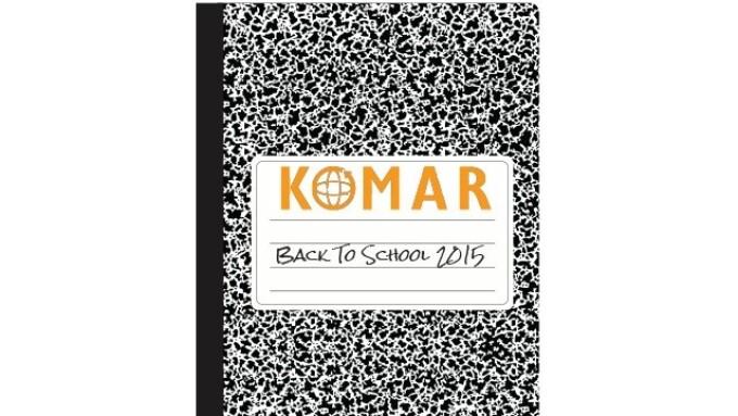 Komar Company Releases 'Back to School' Catalog