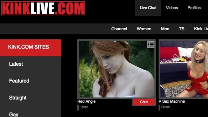 Kink.com Signs Deal With Flirt4Free for Kink Live