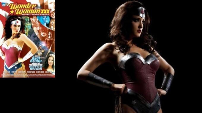 Vivid Releases Axel Braun's 'Wonder Woman XXX'