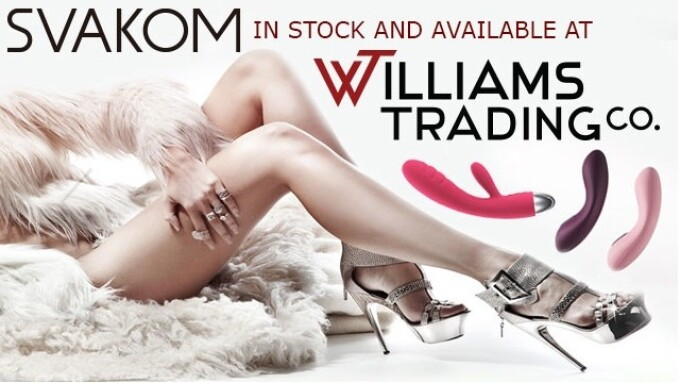 Svakom Now Available From Williams Trading