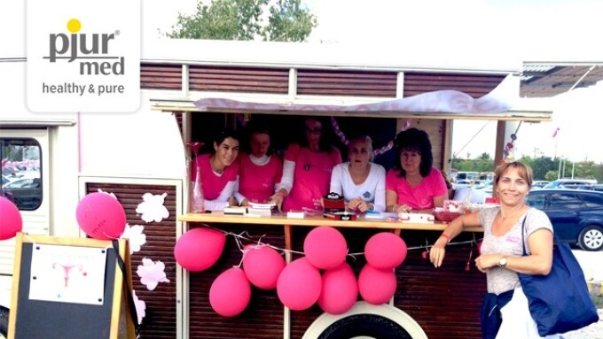 pjur Supports Mauve Flower Foundation in Hungary
