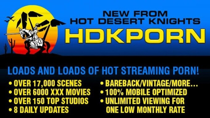 Hot Desert Knights, NakedSword Launch HDKPorn.com