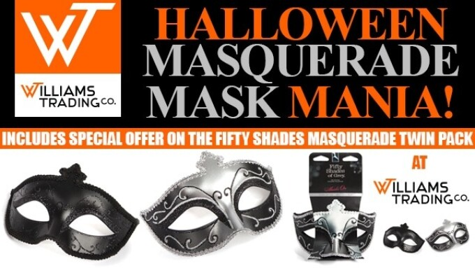 Williams Trading Announces Halloween Mask Promotion