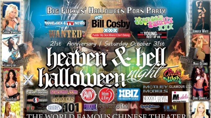 Heaven & Hell Bash Set for Halloween Night