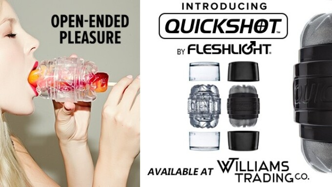 Fleshlight Quickshot Now Available at Williams Trading