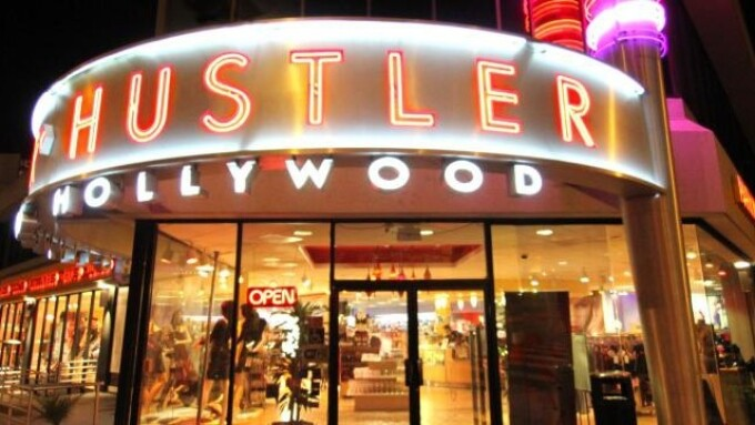 Hustler Hollywood to Move to Hollywood Boulevard in 2016