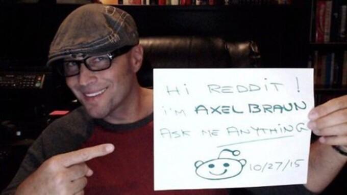 Axel Braun to Do Reddit AMA Tuesday