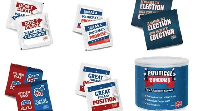 Paradise Marketing Launches Political Condom Collection