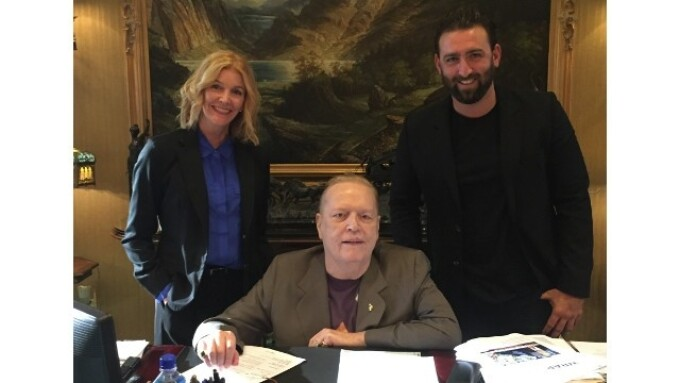 Larry Flynt Appears on Doc Johnson's 'Ask The Doc'