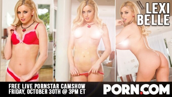 Lexi Belle in Free Halloween Cam Show on Porn.com