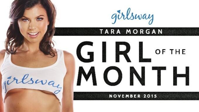 Tara Morgan Named Girlsway Girl of the Month