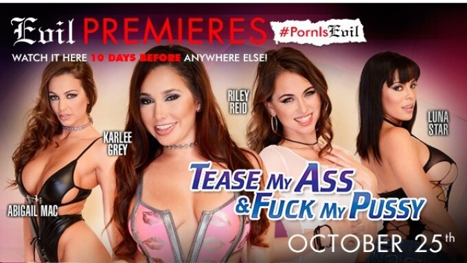 Evil Angel Premieres FameDollars 'Tease My' Movie