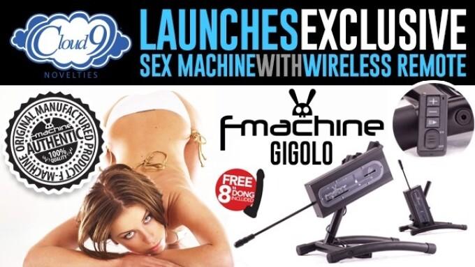 Cloud 9 Launches F-Machine Gigolo Sex Machine With Wireless Remote