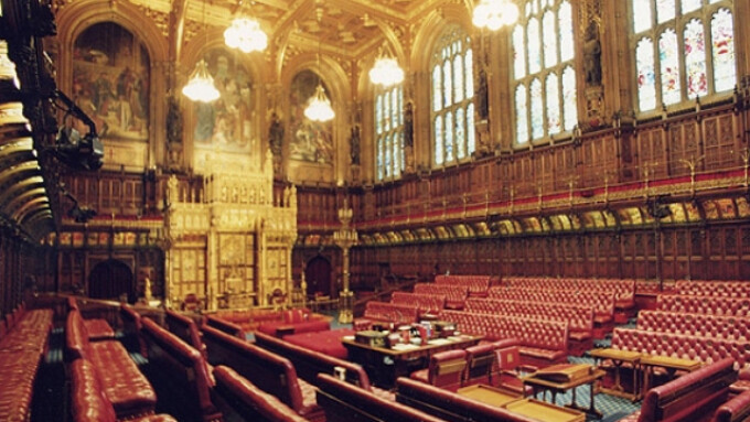 U.K. Parliament's House of Lords Debates Impact of Porn