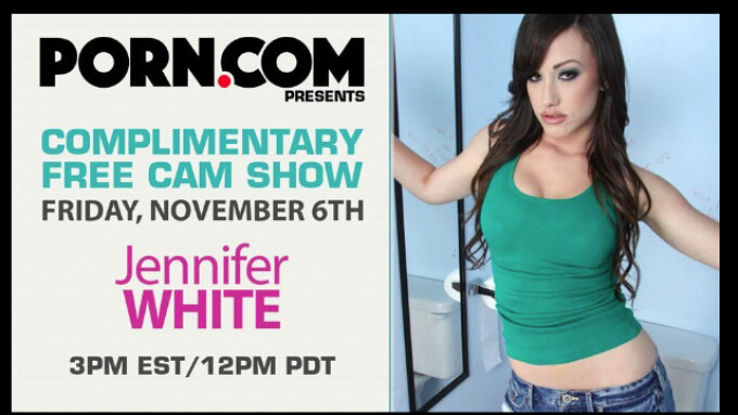 Jennifer White Expands Career With Camming Commitment