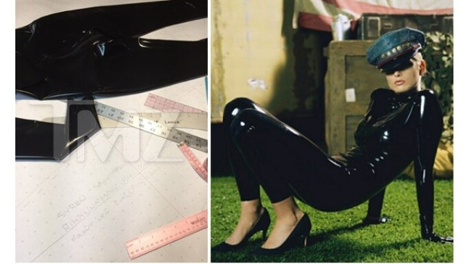 TMZ: Stockroom Supplies Latex Outfits for Rihanna Music Video