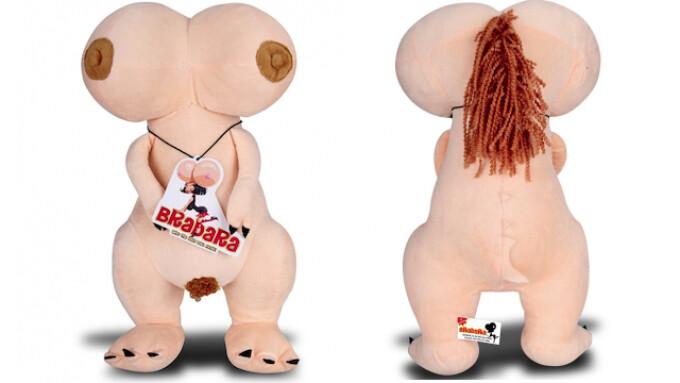 Electric Distro Unveils 'Brabara' Busty Plush Doll